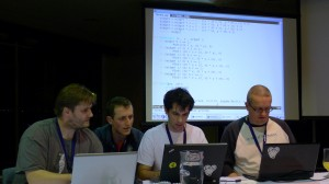 The Free Software Melbourne team in action