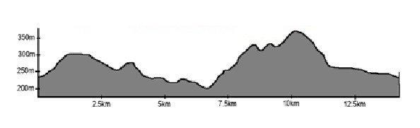 Salomon trail run #3 long course elevation