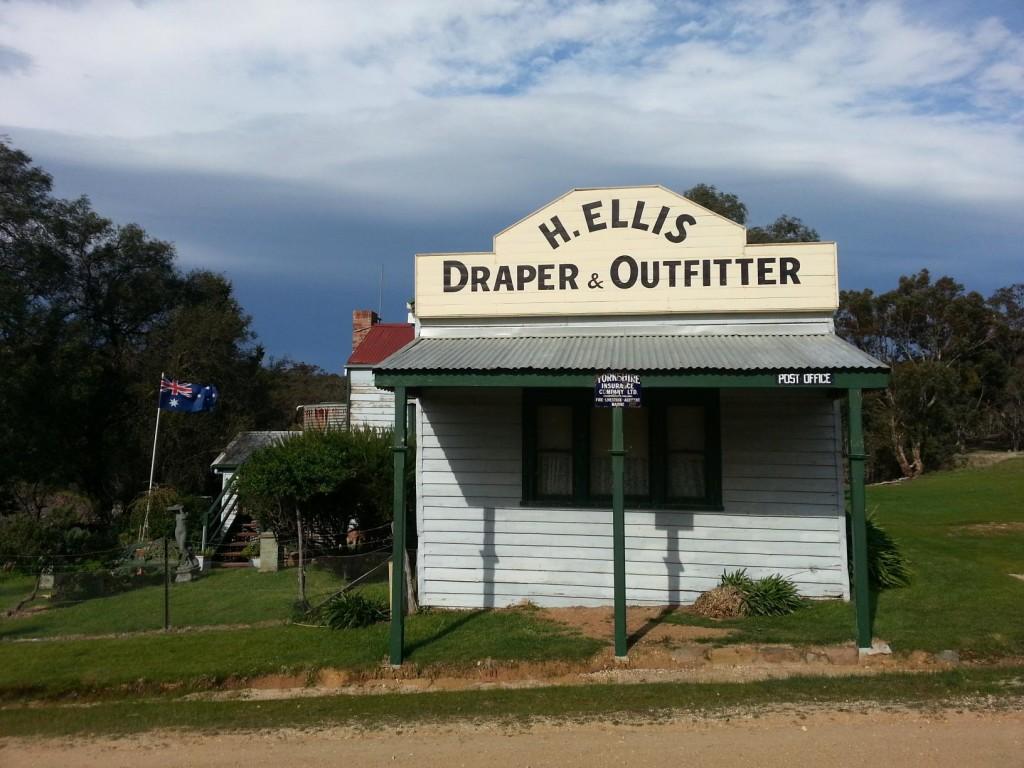 The draper shop at Steiglitz